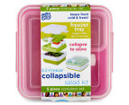 Cool Gear EZ-Freeze Collapsible Salad Kit - Pink 6