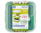 Cool Gear EZ-Freeze Collapsible Salad Kit - Green 6