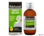 Robitussin Sinus Relief Liquid 200mL 1