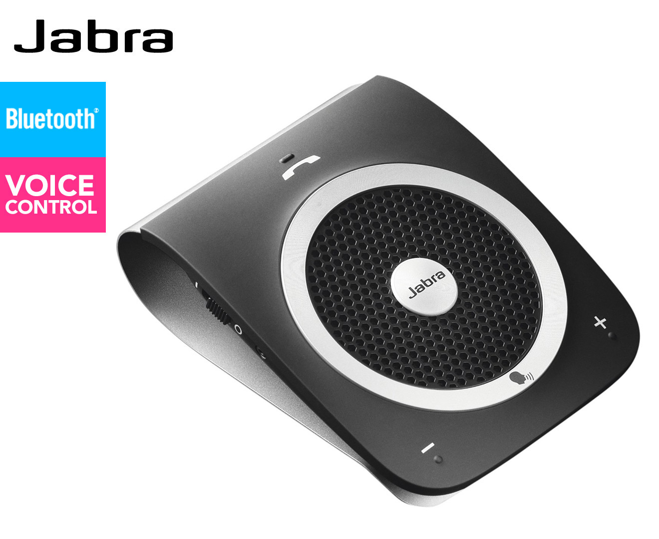 jabra tour bluetooth in car speakerphone black ebay. Black Bedroom Furniture Sets. Home Design Ideas
