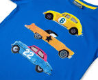 Urban Crusade Junior Boys' Car Print Tee - Blue 3