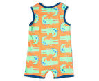 BQT Baby Boys' Crocodile Romper & Hat 2-Piece Set - Multi 3