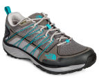 The North Face Women's Litewave Explore WP Shoe - Q-Silver Grey/Bluebird 2