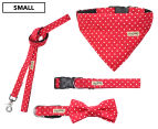 Wag Worthy Dog Accessory Value Pack for Small Dogs - Red 1