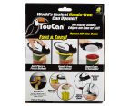 TouCan Hands Free Can Opener - Black/White 6