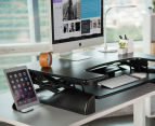 Bratek Height Adjustable Standing Desk - Black 3