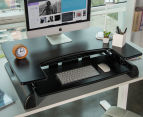 Bratek Height Adjustable Standing Desk - Black 4
