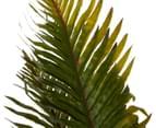 Potted Faux Boston Plant 70cm - Green/Black 3