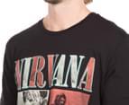 Nirvana Men's Tee - Black  6