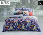 KAS Emery King Bed Quilt Cover Set - Multi 1