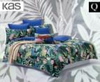 KAS Rousseau Queen Bed Quilt Cover Set - Multi 1