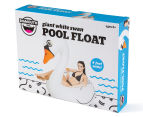 Giant White Swan Pool Float - White/Orange 2