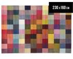 Rug Culture 230x160cm Antares Bright Bohemian Pixel Rug - Multi 1