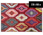 Rug Culture 230x160cm Tribal Navajo Rug - Red 1