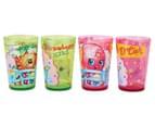 Zak! Shopkins Tumblers 4-Pack - Green/Pink 2