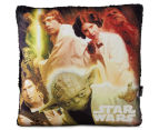 Nemcor 40x40cm Star Wars Mink Cushion Sherpa - Multi  1