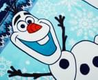 Disney Frozen 127x152cm Polar Fleece Throw - Blue 2
