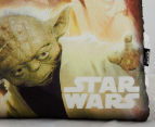 Nemcor 40x40cm Star Wars Mink Cushion Sherpa - Multi  4