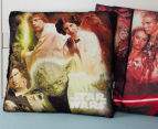 Nemcor 40x40cm Star Wars Mink Cushion Sherpa - Multi  6