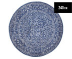 Rug Culture 240x240cm Thebes Rug - Navy 1
