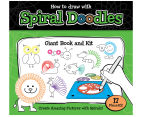 How To Draw Spiral Doodles: Giant Book & Kit 1