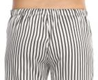 Deshabillé Women's Splendid PJ Pant - Black/White 4