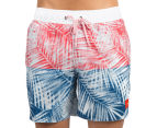 Speedo Griffith Watershort - Red/Blue/White 1