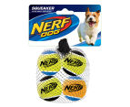 NERF Dog Extra Small Squeaker Tennis Balls 4pk - Multi  1