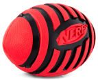 NERF Dog Medium Squeaker Football Toy - Red 3