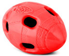 NERF Dog Small Crunchable Football Toy - Red 4
