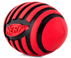 NERF Dog Medium Squeaker Football Toy - Red 4