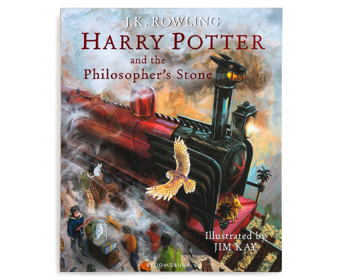 Harry Potter Illustrated Box Set Catch Com Au