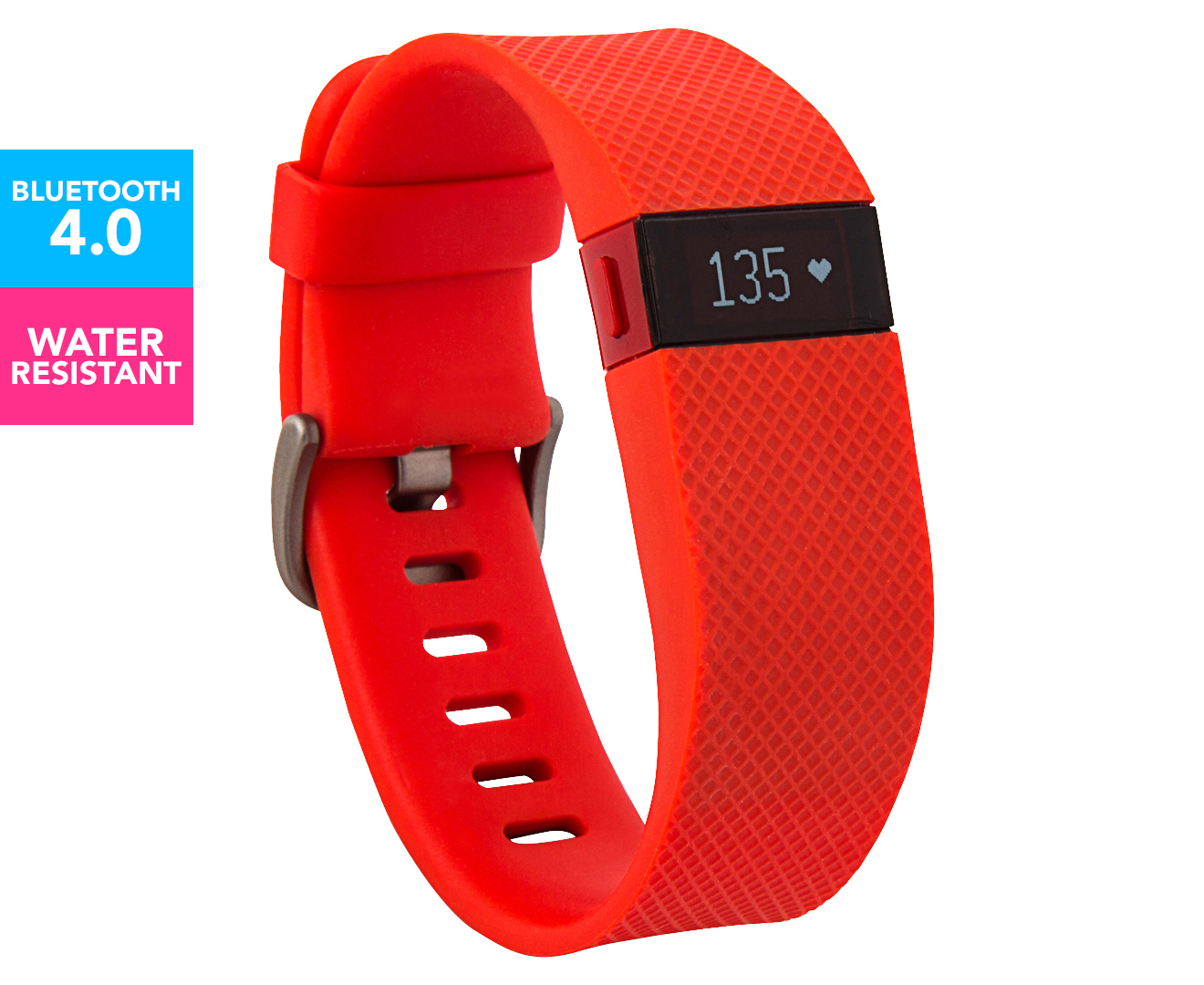 Fitbit Charge HR Large - Tangerine