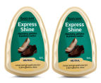 2 x Footcare Express Shine Neutral Sponge 6mL 1