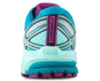 Brooks Women's Ravenna 7 Shoe - Deep Orchid/Caneel Bay/Aruba Blue 4