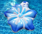 AirTime Luxe Hibiscus Pool Float - Blue 1