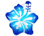AirTime Luxe Hibiscus Pool Float - Blue 2