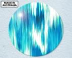 Aqua Typhoon 59cm Acrylic Glass Wall Art 1