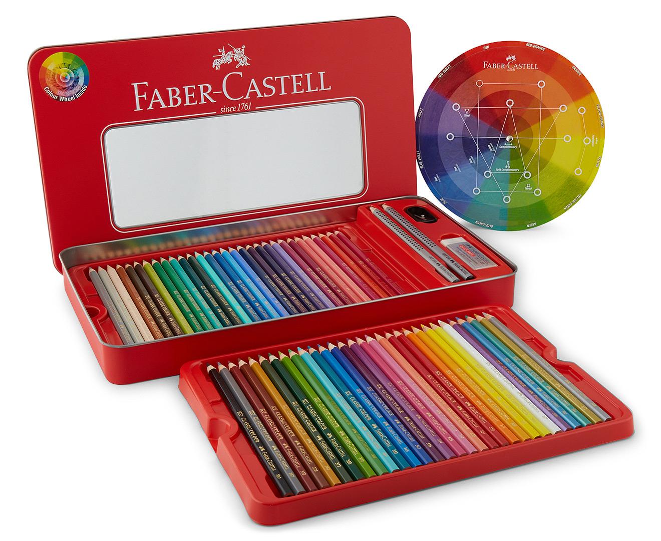 fabercastell 60 classic colour pencil sketch set  catch