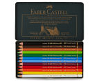 Faber-Castell Polychromos 12 Colour Pencils Set 2