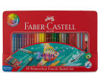 Faber-Castell 48 Watercolour Pencil Sketch Set 5
