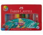 Faber-Castell 48 Watercolour Pencil Sketch Set 5