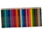 Faber-Castell 48 Classic Colour Pencils + Magical Cities Colouring Book Bundle 3