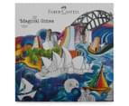 Faber-Castell 48 Classic Colour Pencils + Magical Cities Colouring Book Bundle 4