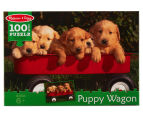 Melissa & Doug Puppy Wagon Jigsaw Puzzle 1