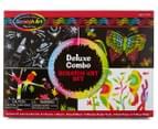 Melissa & Doug Deluxe Combo Scratch Art Set 1