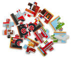 Melissa & Doug Vehicles Puzzle In A Box 3