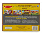 Melissa & Doug Vehicles Puzzle In A Box 5