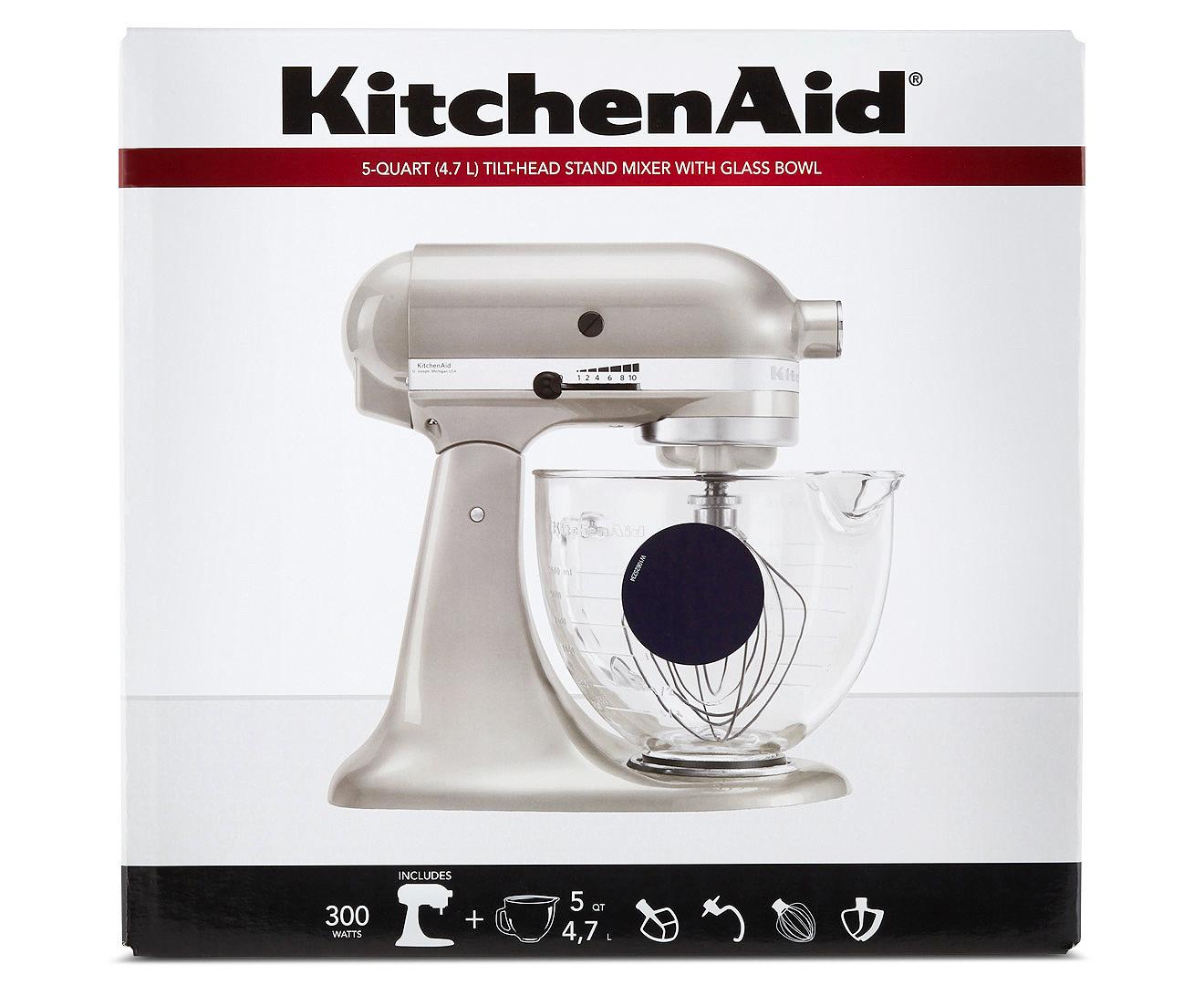 Kitchenaid Ksm156 Platinum Stand Mixer Blueberry