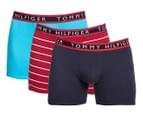 Tommy Hilfiger Men's Cotton Stretch Boxer Brief 3-Pack - Multi 1